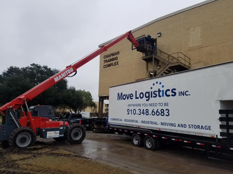 Movers Storage Relocation company San Antonio Texas