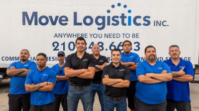 group of moving men for relocation company