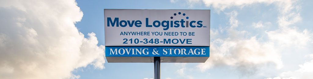 Moving and relocation company sign