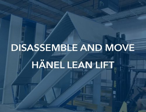 Disassemble and Relocate a Hänel Lean Lift