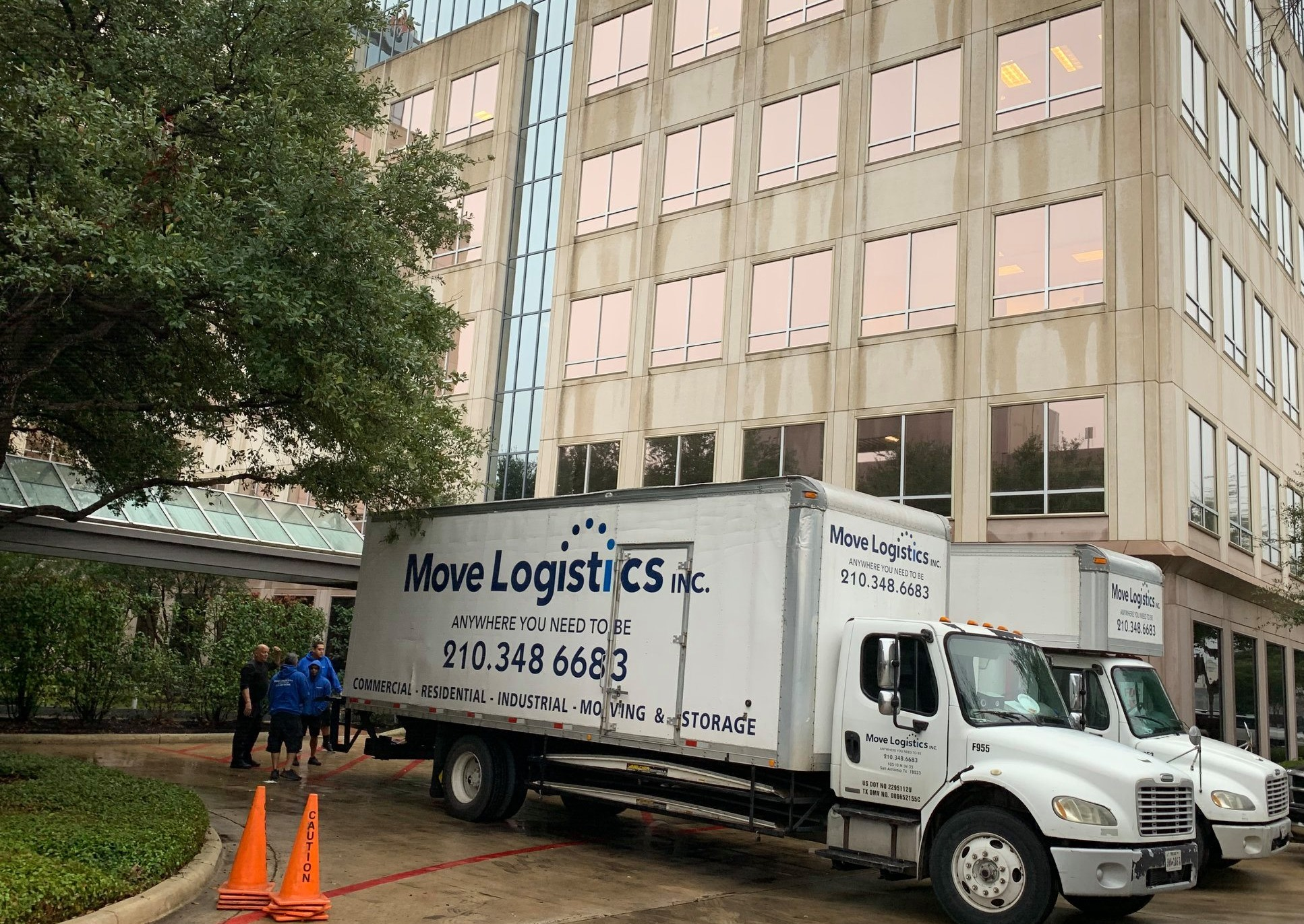commercial office movers planned move free consulation san antonio texas
