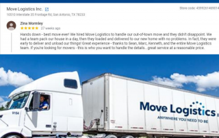 5 star review for out of town move san antonio texas