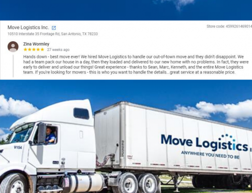 Move Logistics gets 5 stars on out of town move!