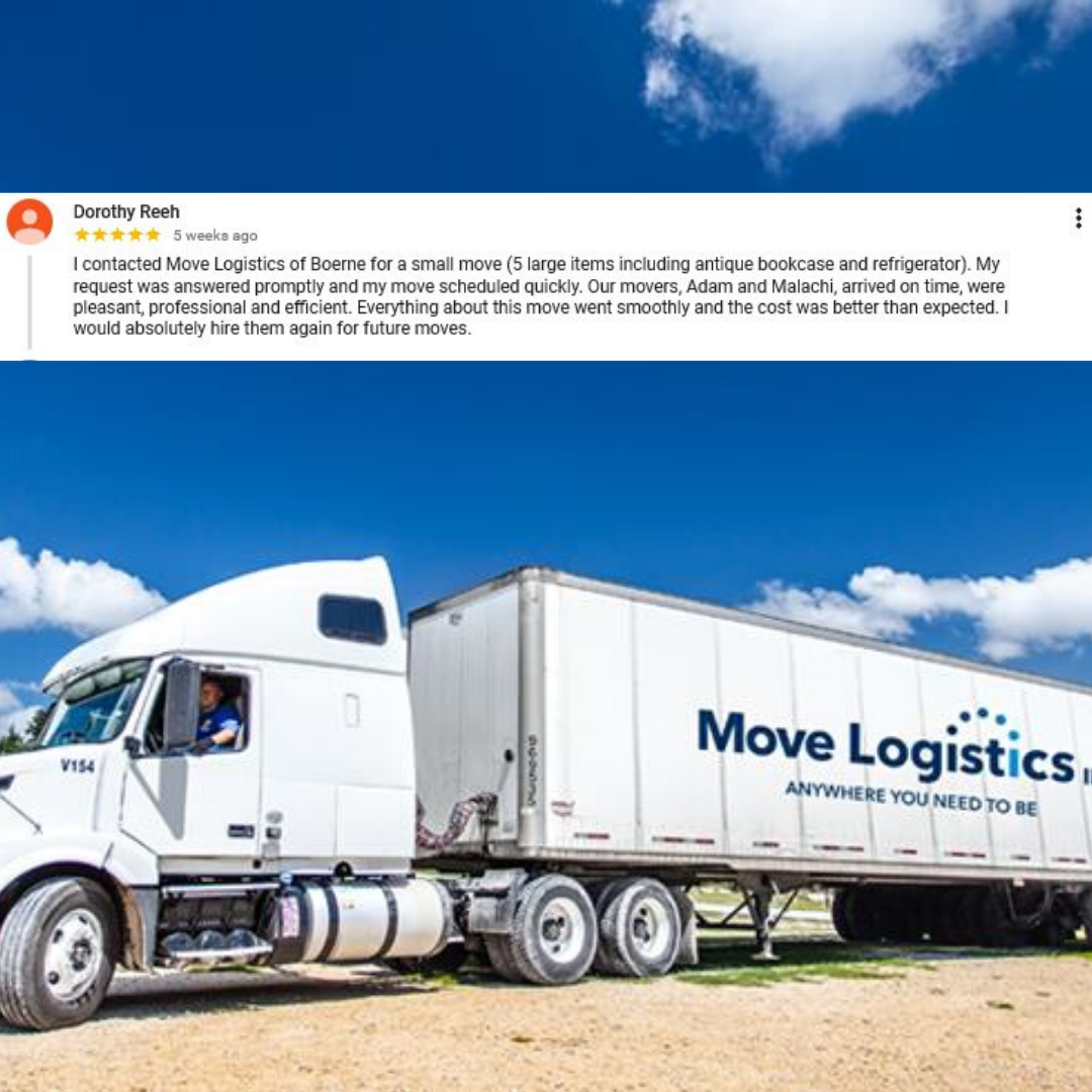 boerne texas movers 5 star review residential moving
