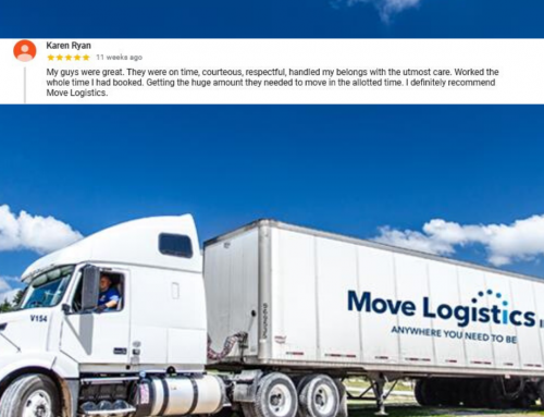 5 Star Review for Move Logistics! Monday Motivator!