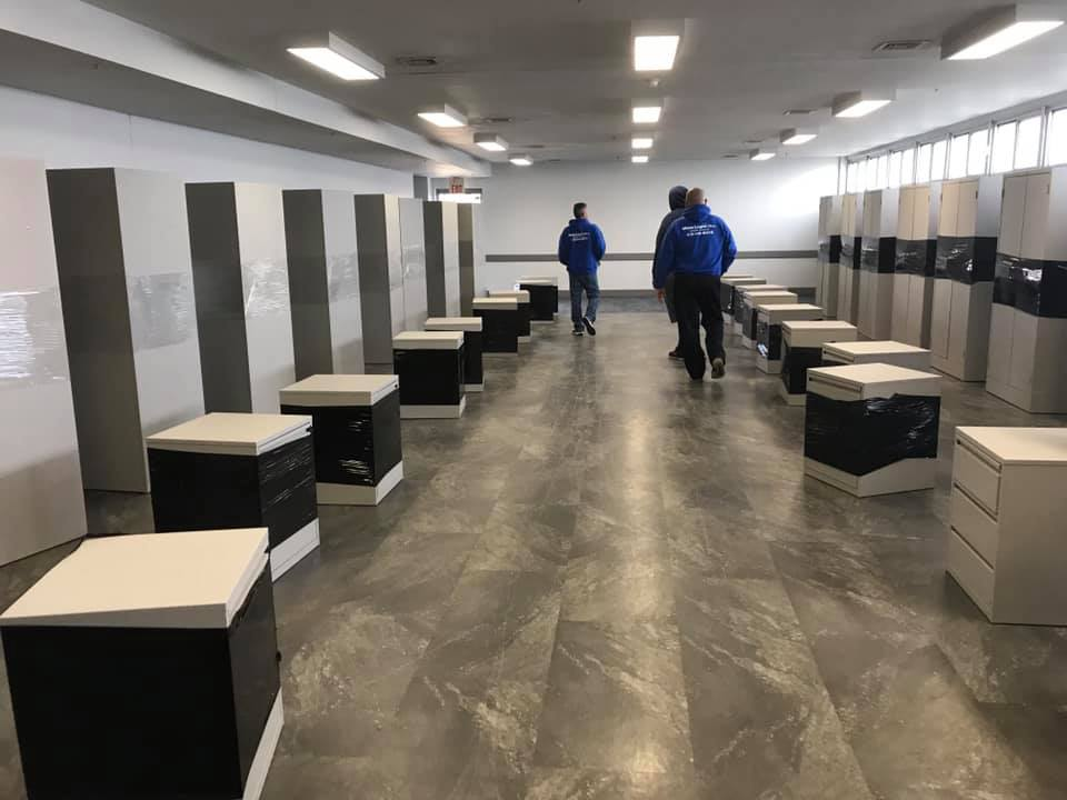 relocating office cubicles commercial moving company san antonio texas movers