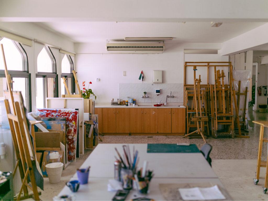 Art Studio Paintings Easels